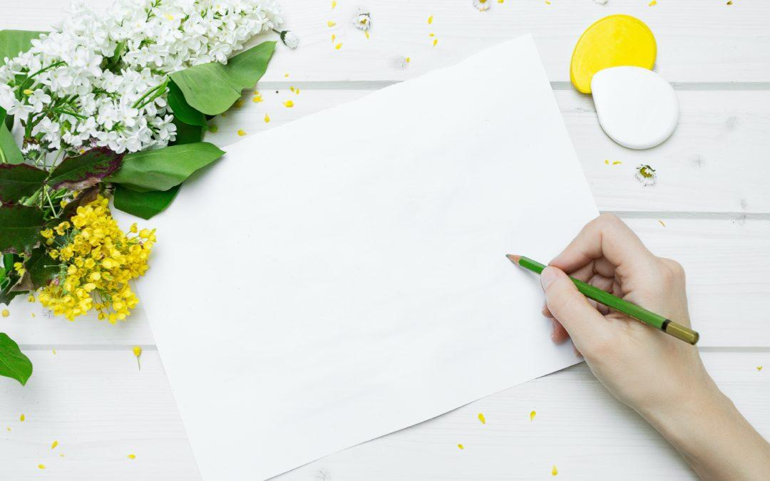 carta e penna per memoria e apprendimento